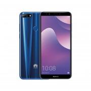Celular Huawei Y7 2018 con Batería de 3000 mAh Desbloqueo Facial + Chip AT&T de Regalo - Azul