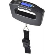 infinity11 Luggage Travel Weighing Scales 50kg Electronic Digital LCD, Batteries Weighing Scale (Black) Weighing Scale(Black)