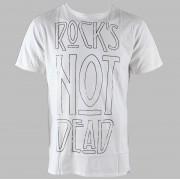 utcai póló férfi - Rock - MACBETH - White