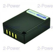2-Power Digitalkamera Batteri Fujifilm 7.2v 950mAh (NP-W126)