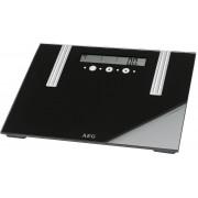 AEG PW 5571 - Báscula de análisis corporal de 6 funciones, de cristal y acero inoxidable