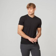 Myprotein T-Shirt V-Neck Luxe Classic - XL - Black