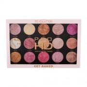 Makeup Revolution London Pro HD Amplified Palette 37,5 g paletka rozjasňovačov pre ženy Get Baked