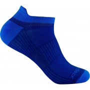 Wrightsock Coolmesh Low Tab - Electric blue / grijs - M (37,5 - 41)