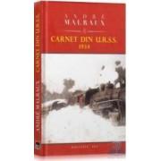 Carnet din U.R.S.S. 1934 - Andre Malraux