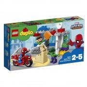 LEGO DUPLO - Super Heroes, Aventurile lui Spider-Man & Hulk 10876