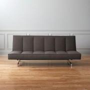 Flex Gravel Sleeper Sofa by CB2