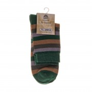 Дамски чорапи Dynamic 28 зелени с кафяво и сиво