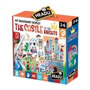 Puzzle Castelul cavalerilor, 72 piese