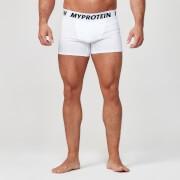 Klassieke Boxers - XL - White/Navy