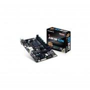 Tarjeta Madre Gigabyte GA-AM1M-S2H 2xDDR3 PCI-E 2xUSB3 HDMI Socket AM1-Negro