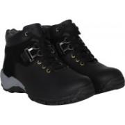 Baaroo Trooper Combat Boot For Men Boat Shoes Boots For Men(Black)