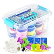 Graces Dawn Polymer Clay, 36 Colors Ultra Light Molding Magic Clay Kit, Best Kids Gifts Ever , Non-toxic, Easy Storage