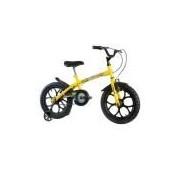 Bicicleta Infantil Masculina Dino Aro 16 Amarela/Preto Track Bikes
