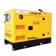 Generator insonorizat Stager YDY18S3 - E, silent 1500rpm, diesel, trifazat