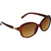 6by6 Oval Sunglasses(Brown)