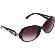 BEING ADAM Over-sized Sunglasses(Violet)