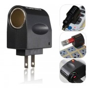Meco Universal 220V AC Wall Power to 12V DC Car Cigarette Lighter Adapter Converter