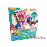 Shimmer & Shine 3D Képkészítő Kiddo Books
