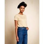 Bellerose T-Shirt Gexx rayé beige