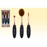 3pc Brushworks HD Oval Brush Set