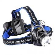 Lanterna LED Cree de Frunte pentru Cap, Multifunctionala, 3 Moduri Iluminare, Raza 800m