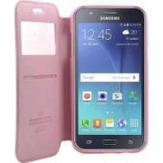 Husa Flip Goospery My-Noble Samsung Galaxy J5 J500 2015 Roz