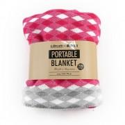 【セール実施中】【送料無料】ポータブルブランケット FQ76500903 P 防寒 抗菌 消臭