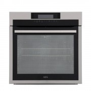 AEG BPE742320M Single Built In Electric Oven - Stainless Steel