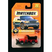 Maintenance Truck * Red * Big Movers Series 2 Matchbox 1998 Basic Die Cast Vehicle (#11 Of 75)