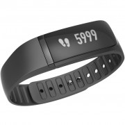 Bratara fitness Lenovo Fit Band G02, Silicon, Sleep Traker, HR, Black