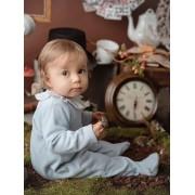 Mighty Love Babygrow em Algodão Cardado para Bebé Menino - Azul