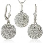MHM Set de bijuterii Bile Crystal M5 34157