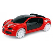 VT 3D Light 1 20 Scale Battery Operated Bump and Go Toy Car w Flashing Lights Sounds Colors May Vary