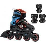 Rollerblade Thunder Black/Red 185 SET