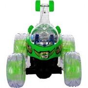 Per Te Solo Ben 10 Rmote Control Stunt Car green