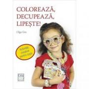 Coloreaza decupeaza lipeste Activitati creative pentru copii
