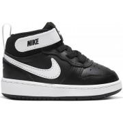 Nike Court Borough Mid 2 - sneakers - bambino - Black/White