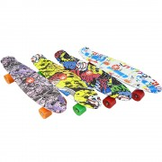 "Skateboardul ABS (penny board pennyboard) 22"" (56 cm.) cu imprimare color"