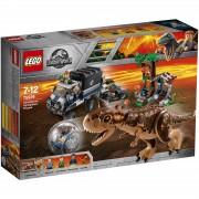 Lego Jurassic World: Huida del Carnotaurus en la girosfera (75929)
