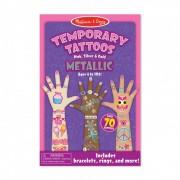 Tatuaje temporare Metallic