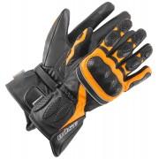 Büse Pit Lane Damen Handschuhe Schwarz Orange S M