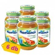 Hamánek bébiétel sonka bébizöldséggel, 7 hó+ (6x190 g)