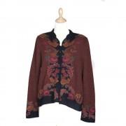 Arana Roseto Jacket Rust/Black (2801C)