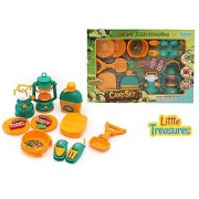 Little Treasures Lets Go Camping by Little Camper 16-Piece pretend play Camp Set Ages 3 and Up