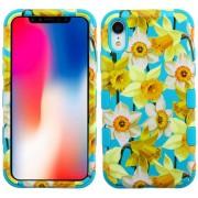 Funda Case Iphone XR Doble protector Uso Rudo Tuff - Narciso