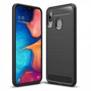 Carcasa TECH-PROTECT TPUCARBON Samsung Galaxy A10 2019 Black