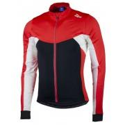 melegítő gyermek kerékpáros mez Rogelli Recco 2.0 hosszú ujj, fekete-piros 001.1400.