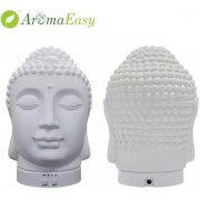 Boeddha Aromatherapie Diffuser Essentiële olie 120 ml Ultrasonde Aroma Diffuser Decoratie Verlichting Boeddha Beeld