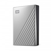 Western Digital My Passport Ultra 4TB WDBFTM0040BSL Type-C USB 3.1 - Silver